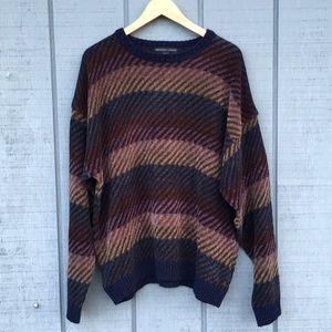 Geoffrey Beene striped XL soft & thick
